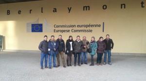 Professors a la Comissió Europea