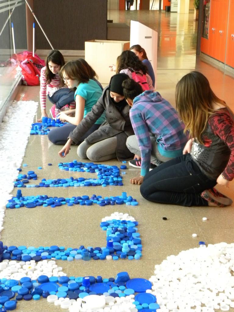 Elaborando el mosaico
