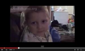Testimonio del niño antes de morir