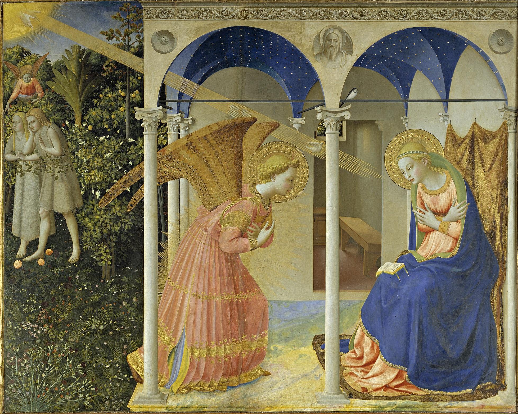 Fra Angélico Anunciación 1