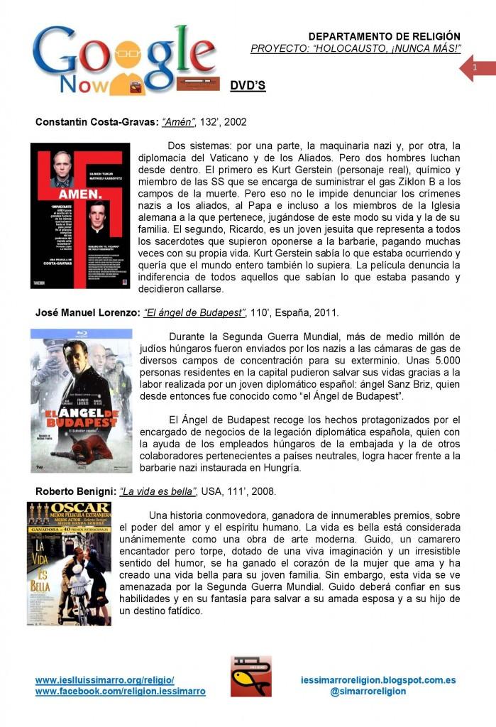 Holocausto Nunca Mas DVD's_Página_1