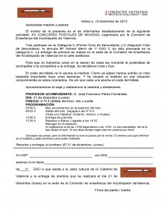Autorización Premio Concurso