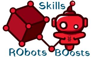 Robots boosts skills logo