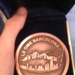 medalla mate