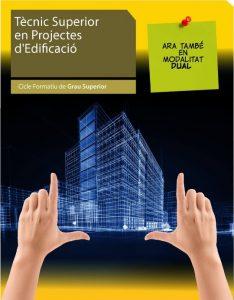 cartell diptic Projectes Edificació 2018