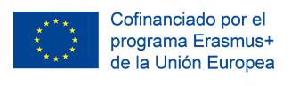 Erasmus+ cofinanciado